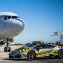 Lamborghini Huracan รับหน้าที่ในสนามบินเมืองโบโลญญา