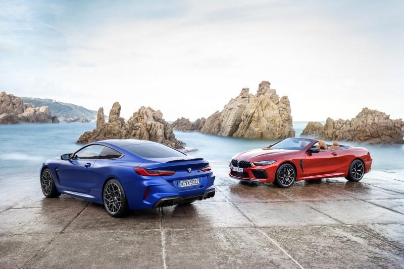 BMW M8 มาครบทั้งคูเป้ เปิดประทุน และรุ่นเพิ่มความแรง