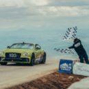 Bentley Continental GT สร้างสถิติใหม่ที่ Pikes Peak