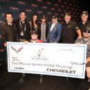 2.7 ล้านดอลล่าร์สำหรับ Chevrolet Corvette เครื่องวางหน้าคันสุดท้าย