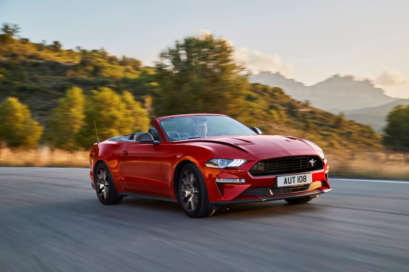 Ford Mustang55 Edition รุ่นพิเศษสำหรับตลาดยุโรป
