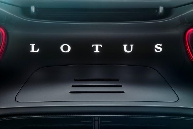 Lotus เผยชื่อไฮเปอร์คาร์ไฟฟ้ารุ่นแรก
