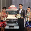 """อีซูซุจัดแถลงข่าว การแข่งขันมวยไทยศึกอีซูซุคัพ ครั้งที่ 30 """"ศึก 30 ปี อีซูซุคัพ"""" ชิงรางวัลรถปิกอัพยอดนิยม """"อีซูซุ    ดีแมคซ์ บลูเพาเวอร์ สปาร์ค 4x4"""""""