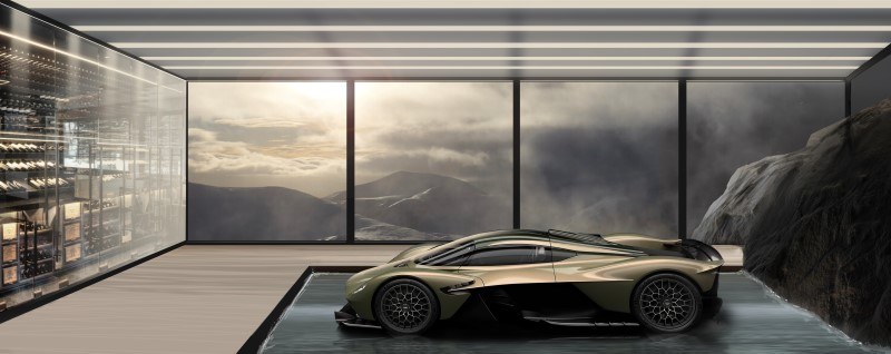 Aston Martin เปิดบริการใหม่สร้างที่จอดรถหรู