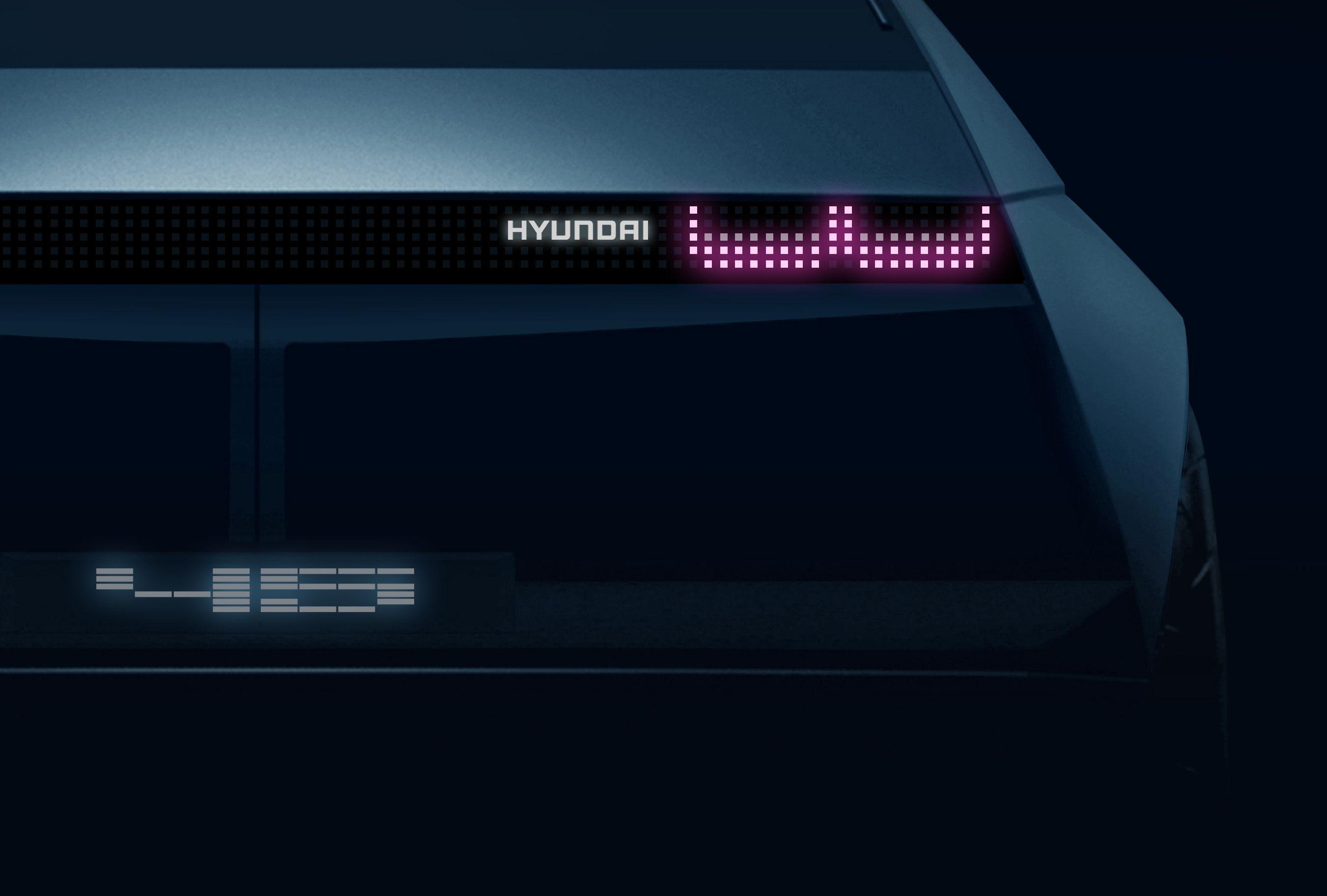 ฮุนได เตรียมเผยโฉมรถ EV ต้นแบบรุ่นใหม่『45』ที่แฟรงก์เฟิร์ตมอเตอร์โชว์