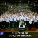 GM ฉลองความสำเร็จ ผลิตเครื่องยนต์ครบ 500,000 เครื่องยนต์