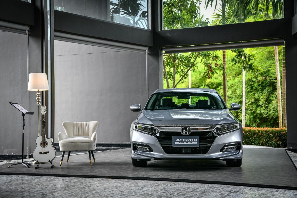 HONDA ACCORD HYBRID TECH ชูจุดเด่น Honda Sensing เหนือชั้นกว่าด้านความปลอดภัย