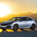 Honda  Civic แฮทช์แบ็กปรับโฉมสำหรับตลาดอเมริกา