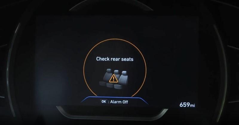 Hyundai เตรียมเพิ่มระบบเตือนผู้ขับป้องกันทิ้งเด็กไว้ที่เบาะหลัง