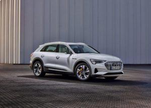 Audi E-Tron 50 Quattro เพิ่มรุ่นประหยัดให้เอสยูวีไฟฟ้า
