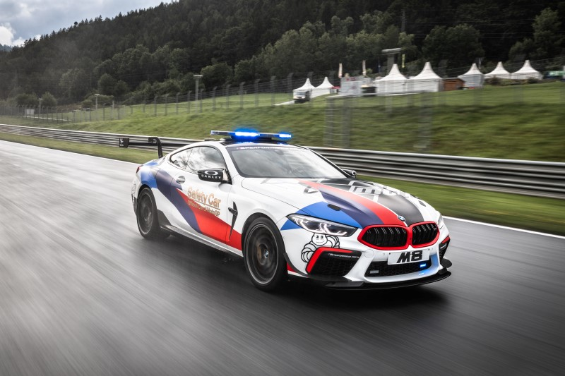 BMW M8 Competition MotoGP Safety Car หน้าที่ใหม่ของรุ่นแรง
