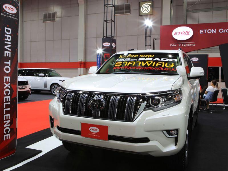 อีตั้น เปิดขาย นิว พราโด้ ใหม่ ครั้งแรกในงาน Big Motor Sale 2019