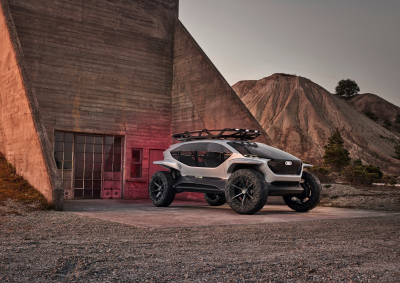 Audi AI:Trail Quattro คอนเซ็ปต์รถออฟโรดแห่งอนาคต