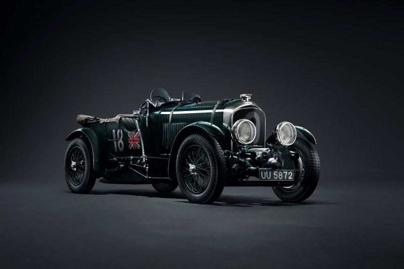 Bentley 4.5 Liter Blower รถแข่งยุคก่อนสงครามโลกจะกลับมาอีกครั้ง
