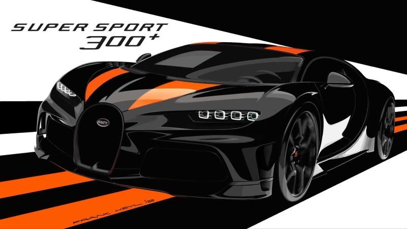 Bugatti Chiron Super Sport 300+ 30 คันกับไฮเปอร์คาร์ความเร็วมากกว่า 300 ไมล์/ชม.