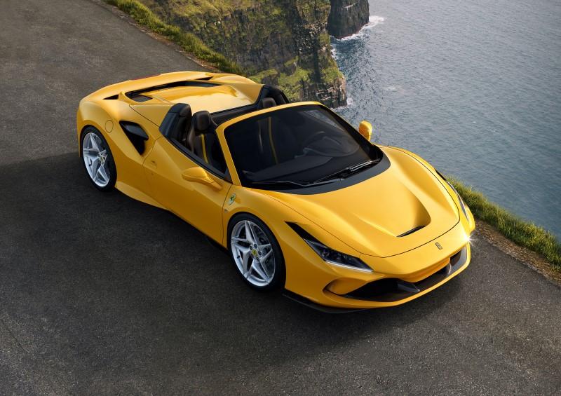 F8 Spider เวอร์ชั่นเปิดหลังคาได้ของรถเครื่องยนต์ V8 ที่แรงสุดของ Ferrari