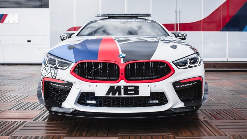 BMW M8 MotoGP Safety Car พร้อมลงสนาม MotoGP ที่บุรีรัมย์