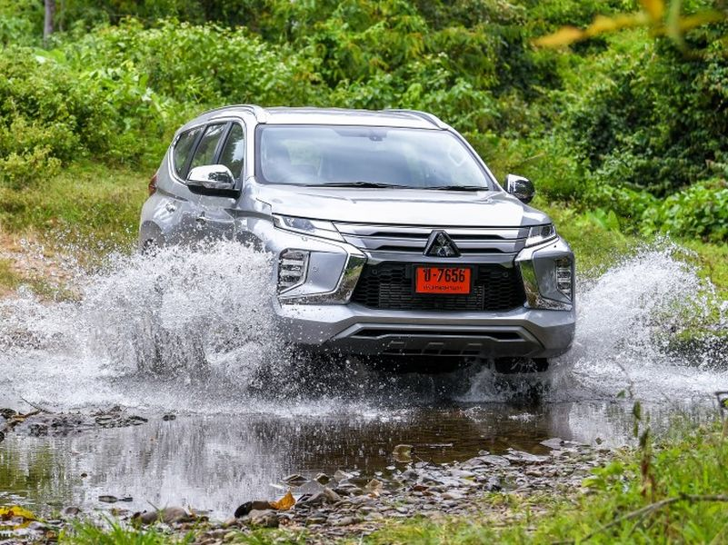 ลองขับ New Mitsubishi Pajero sport บุกตะลุยทุกเส้นทาง
