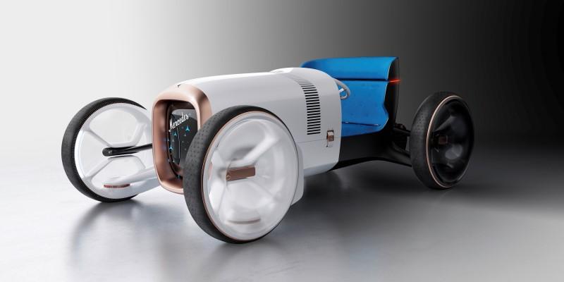 Vision Mercedes Simplex คอนเซ็ปต์รถโรดสเตอร์สไตล์ย้อนยุคที่ล้ำหน้า