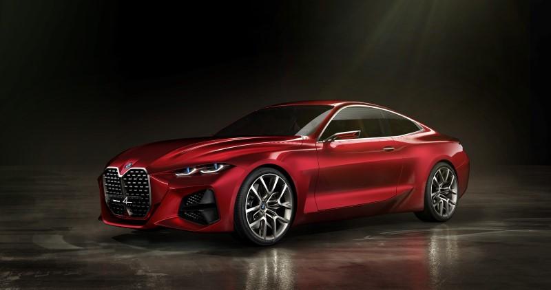 BMW Concept 4 สะใจสำหรับคนชอบกระจังหน้าใหญ่