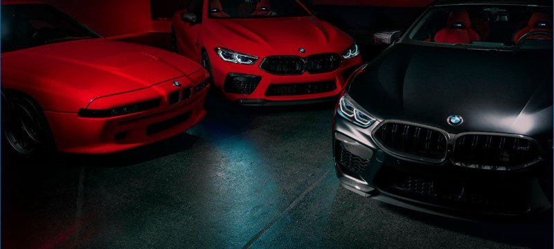 BMW M8 Competition Individual Manufaktur Edition 20 คันกับสีที่เกี่ยวข้องกับความลับ