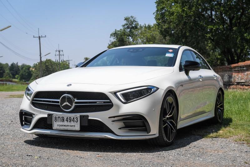 Mercedes-AMG CLS 53 4MATIC+ รถซีดานประกอบไทยที่ร้อนแรงที่สุด ณ เวลานี้