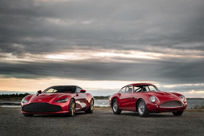 Aston Martin เปิดตัว DBS GT Zagato คู่แฝดยุคใหม่ของ DB4 GT Zagato