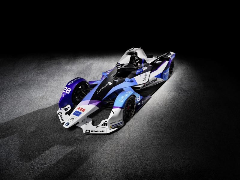 BMW I Andretti Motorsport เผยรถแข่งใหม่ลุยฟอร์มูล่า อีฤดูกาลหน้า