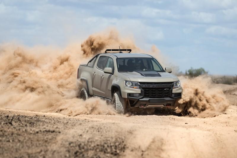 Chevrolet เผยลุคใหม่ที่ดุขึ้นของ Colorado สำหรับลุยตลาดปีหน้า