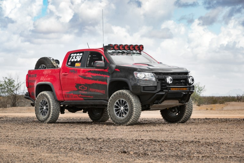 Chevrolet colorado 2021