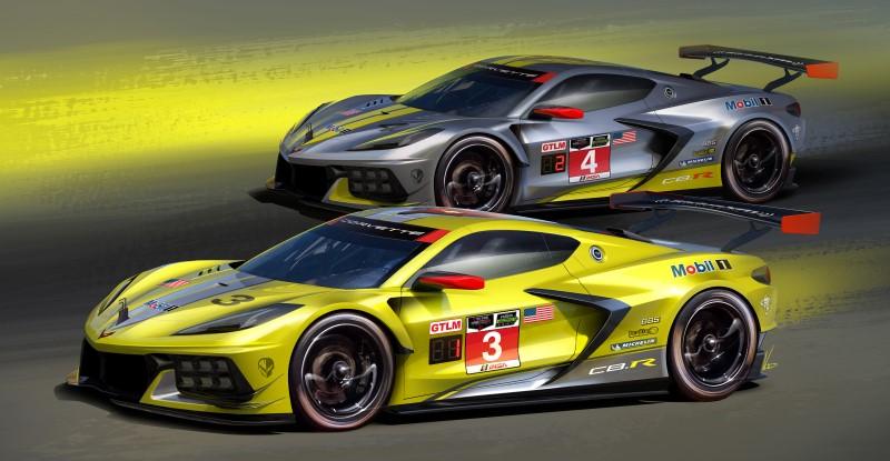 Chevrolet C8.R รถแข่งจากพื้นฐานของ Corvette เจนเนอเรชั่นล่าสุดพร้อมลงสนามปีหน้า