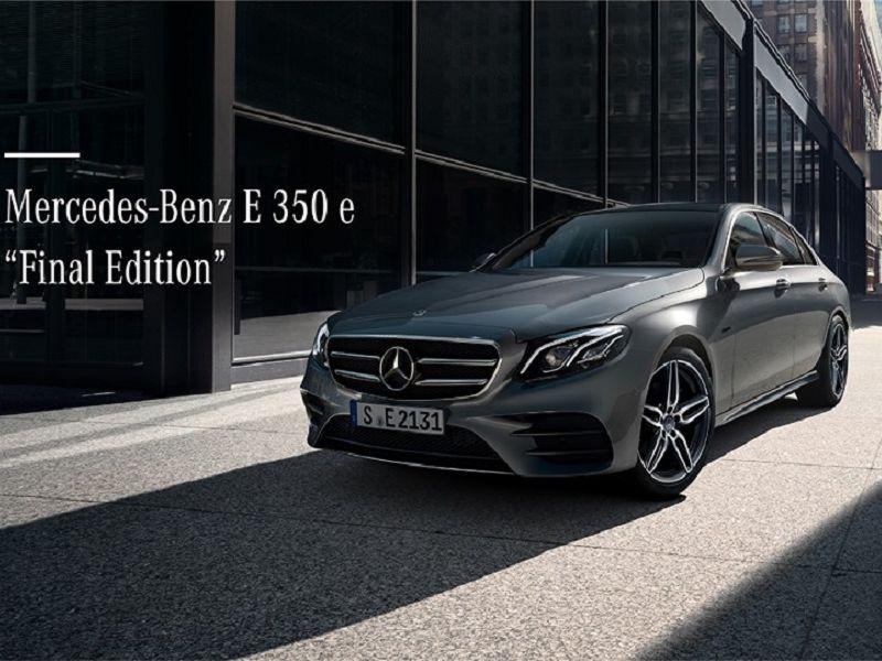 เบนซ์ จัดโปรฯ E 350 e Final Edition ล็อตสุดท้าย-ราคาเริ่มต้น 2.9 ล้านบาท