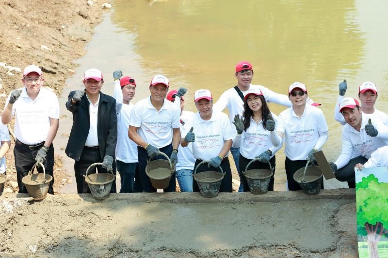 กองทุนฮอนด้าเคียงข้างไทย สานต่อโครงการพัฒนาแหล่งน้ำตามแนวพระราชดำริ ปีที่ 5
