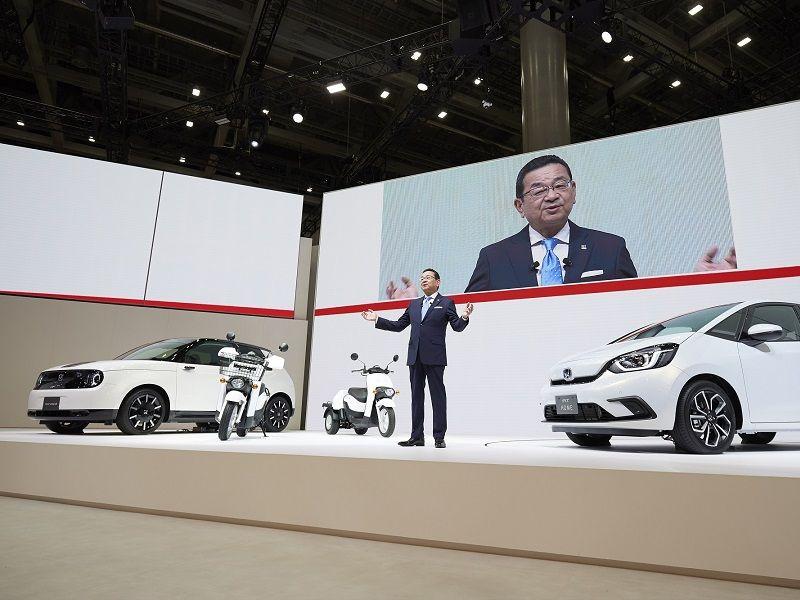ฮอนด้า ขนทัพรถยนต์, มอเตอร์ไซค์ และเทคโนโลยีล้ำสมัยร่วมงานโตเกียว มอเตอร์ โชว์ 2019