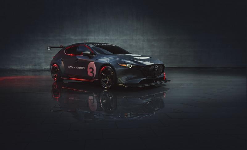 Mazda เปิดตัว 3 TCR เตรียมลุยสนามแข่งปีหน้า