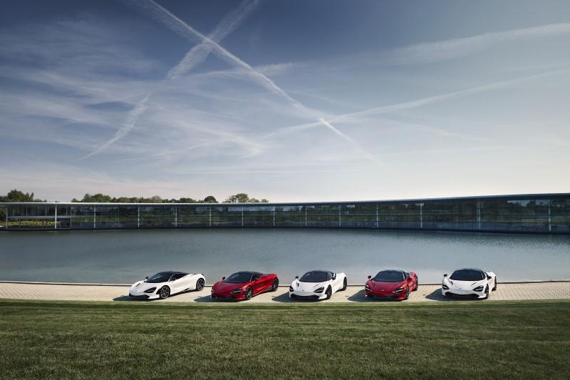 McLaren 720S Coupe MSO Apex Collection บ่งบอกความสัมพันธ์กับสนามแข่งรถคลาสิกทั่วยุโรป