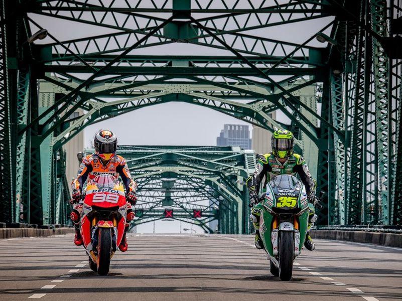 ภาพเบื้องหลังนักบิด MotoGP โปรโมทท่องเที่ยวไทย