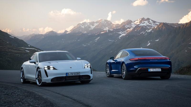 Porsche Taycan The first all-electric sport car เจาะทุกรายละเอียด!