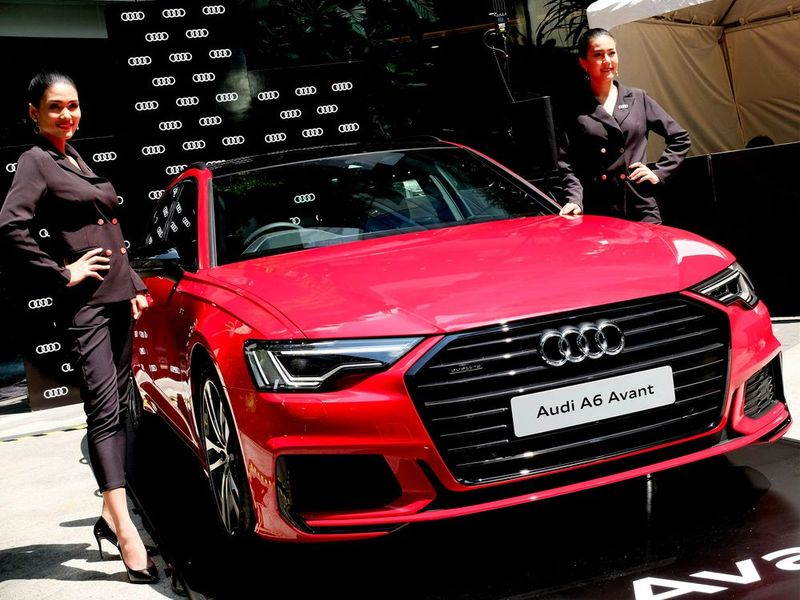 Audi A6 Avant Black Edition 2.0L พ่อบ้านตัวแรง