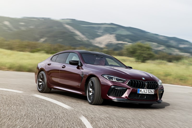 BMW M8 Gran Coupe แล้วรุ่นแรง 4 ประตูก็มา