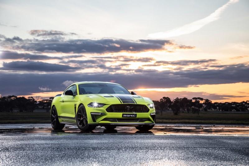 Ford Mustang R-Spec รุ่นพิเศษจำกัดเฉพาะออสซี่