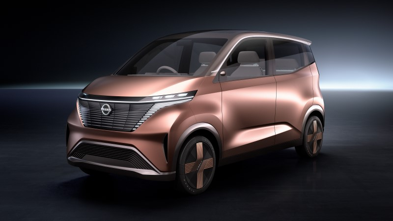 Nissan IMK คอนเซ็ปต์รถไฟฟ้าสำหรับการเดินทางในเมือง