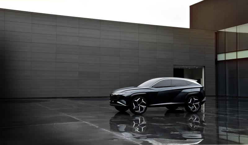 Hyundai Vision T กับแนวทางของเอสยูวีปลั๊กอินไฮบริดในอนาคต