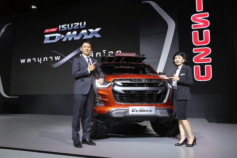 ISUZU จัดเต็ม Motor Expo 2019 คนแห่ชม All-New Isuzu Dmax