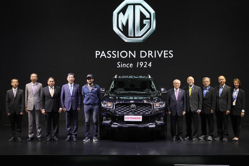 """MG เปิดตัวพรีเซนเตอร์คนแรก """"บิณฑ์ บรรลือฤทธิ์"""" ในงาน Motor Expo 2019"""