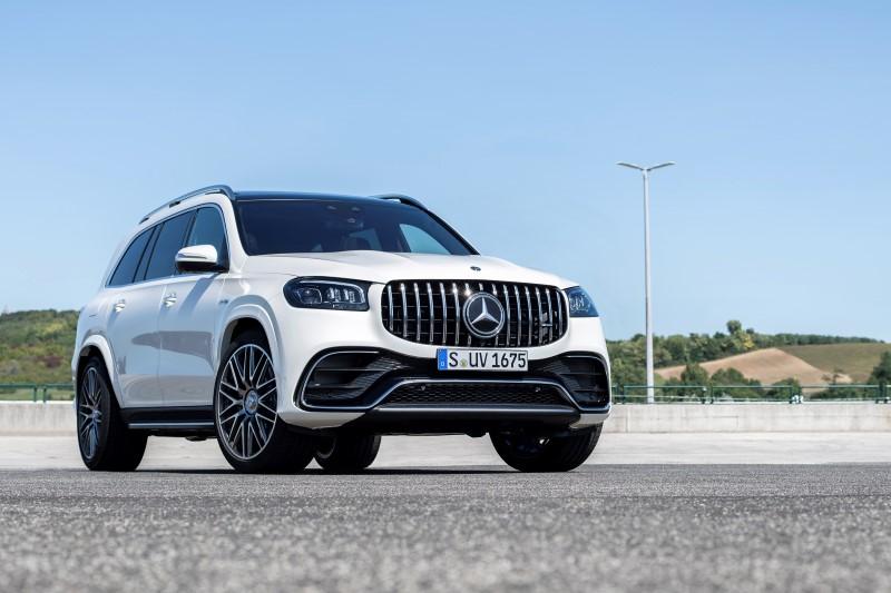 Mercedes-AMG GLS 63 4Matic+ ไปให้สุดทั้งขนาดและความแรง