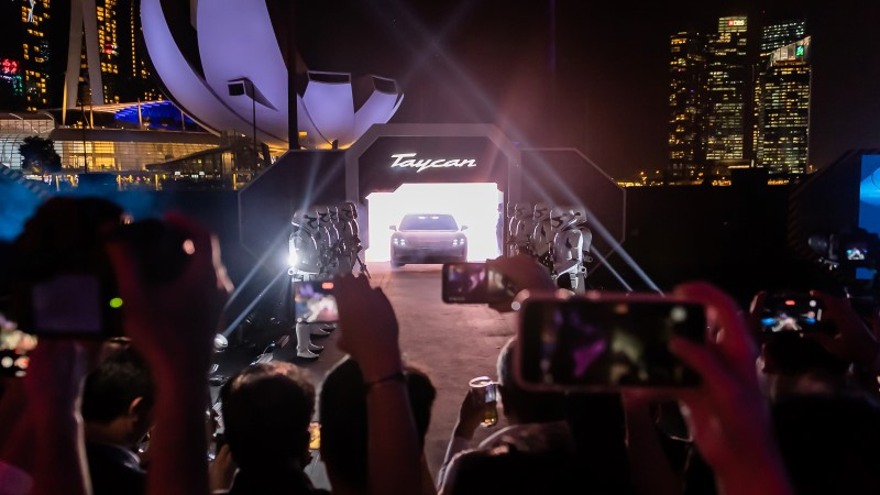 Porsche taycan