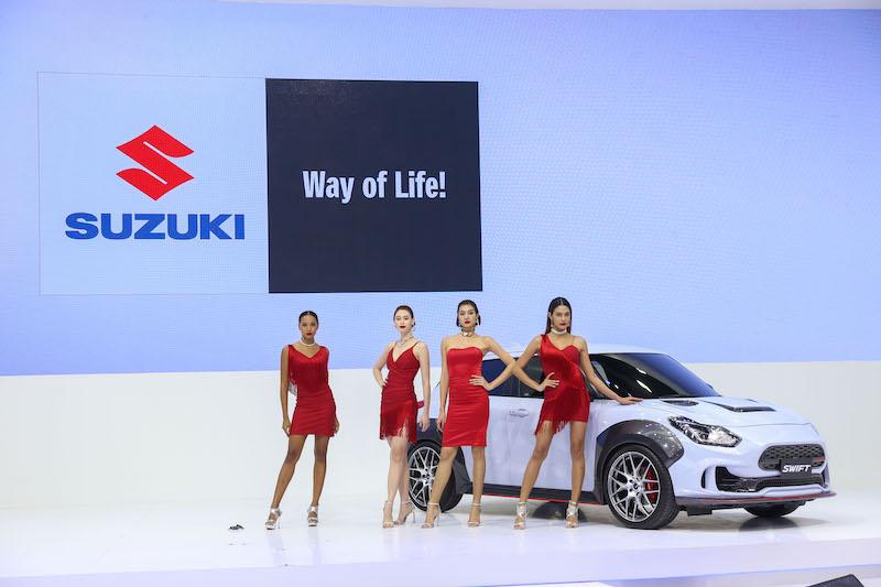 SUZUKI ขนกองทัพอีโคคาร์บุกงาน Motor Expo 2019
