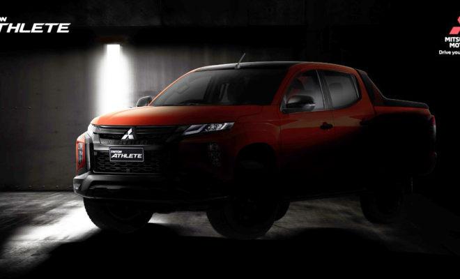 New Mitsubishi Triton Athlete