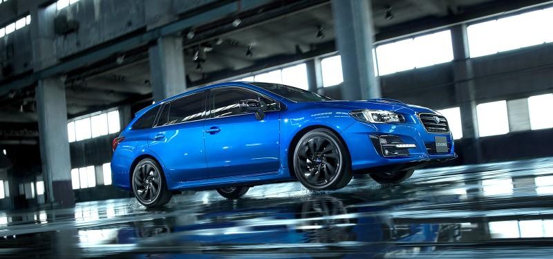 Subaru Levorg V-Sport Edition เพิ่มความเฉียบคมก่อนปิดท้ายปี